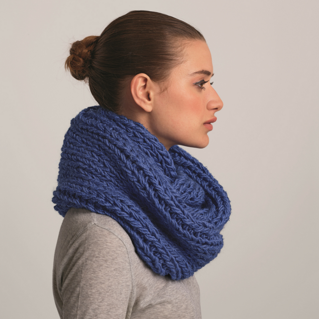 snood-bleu